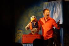 Daniel Kallauch und Spaßvogel Willibald