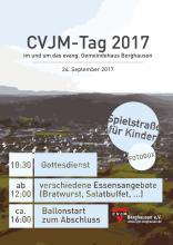 Plakat zum CVJM Tag