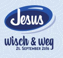 Werbung: Jesus wisch & weg