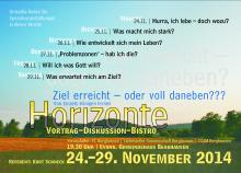 Einladung Horizonte 2014